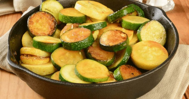 Grilled Marinated Summer Squash and Zucchini